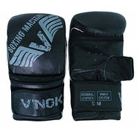 Снарядные перчатки кожа V`Noks Boxing Machine L/XL черный