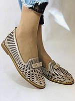 Стильные! Женские туфли -балетки из натуральной кожи 36.37 40. Супер комфорт.Vellena, фото 2
