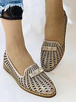 Стильные! Женские туфли -балетки из натуральной кожи 36.37 40. Супер комфорт.Vellena, фото 3