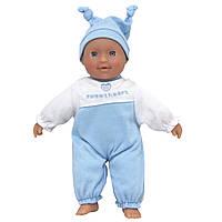 Пупс голубой, 21 см, Dolls World (8524-3)