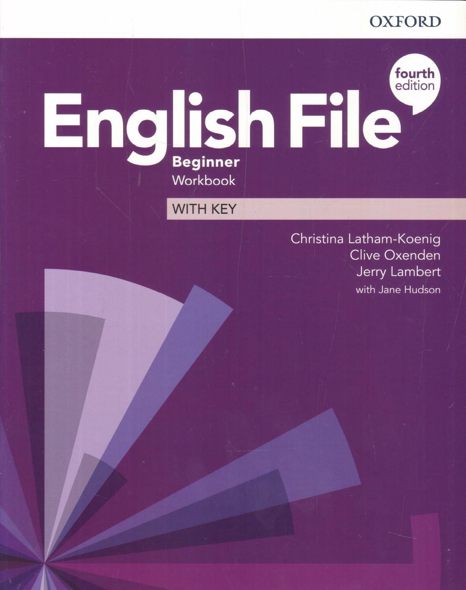 English File 4th Edition Beginner Workbook with Key