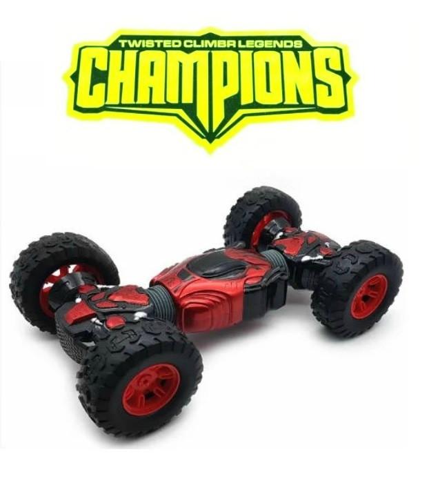 Машинка перевертыш на радиоуправлении Hyper Champions Climber.Трюковая машинка трансформер вездеход.
