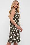 Сукня жіноча Настасья оливка, фото 3