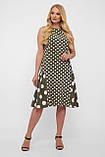 Сукня жіноча Настасья оливка, фото 2