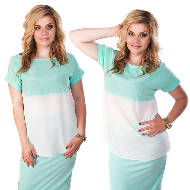 Блузы, кофты, рубашки для роскошных девушек