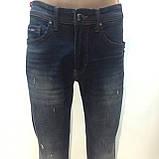 Чоловічі весняні стильні молодіжні джинси Туреччина р. 31,32,33,34, фото 2
