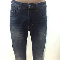 Мужские стильные молодежные джинсы Турция синие