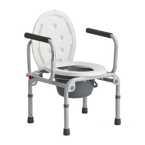 Стілець-туалет сталевий з відкидними підлокітниками DY02800