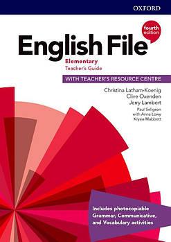 English File 4th Edition ElementaryТeacher's Book + Teacher's Resourse Centre