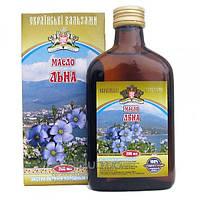 Масло льна Украинские Бальзамы 200мл