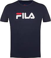 Тёмно-синяя мужская футболка Fila 102389-Z4
