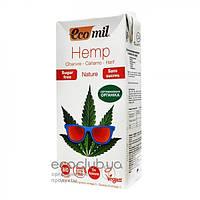 Молоко органическое растительное из конопли ТМ EcoMil 1л