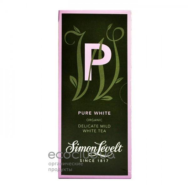 Чай белый пакетированный Чистый белый Simon Lévelt (20 пак)