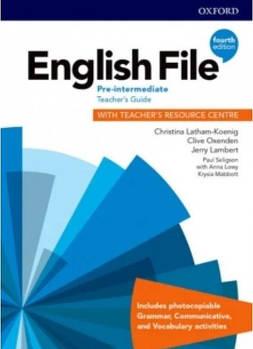 English File 4th Edition Pre-Intermediate Тeacher's Book + Teacher's Resourse Centre