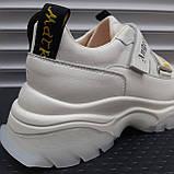 Кросівки жіночі INSHOES молочного кольору, фото 2