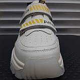 Кросівки жіночі INSHOES молочного кольору, фото 3