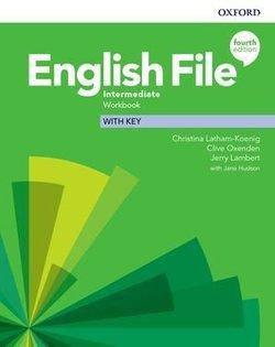 English File 4th Edition Intermediate Workbook with Key