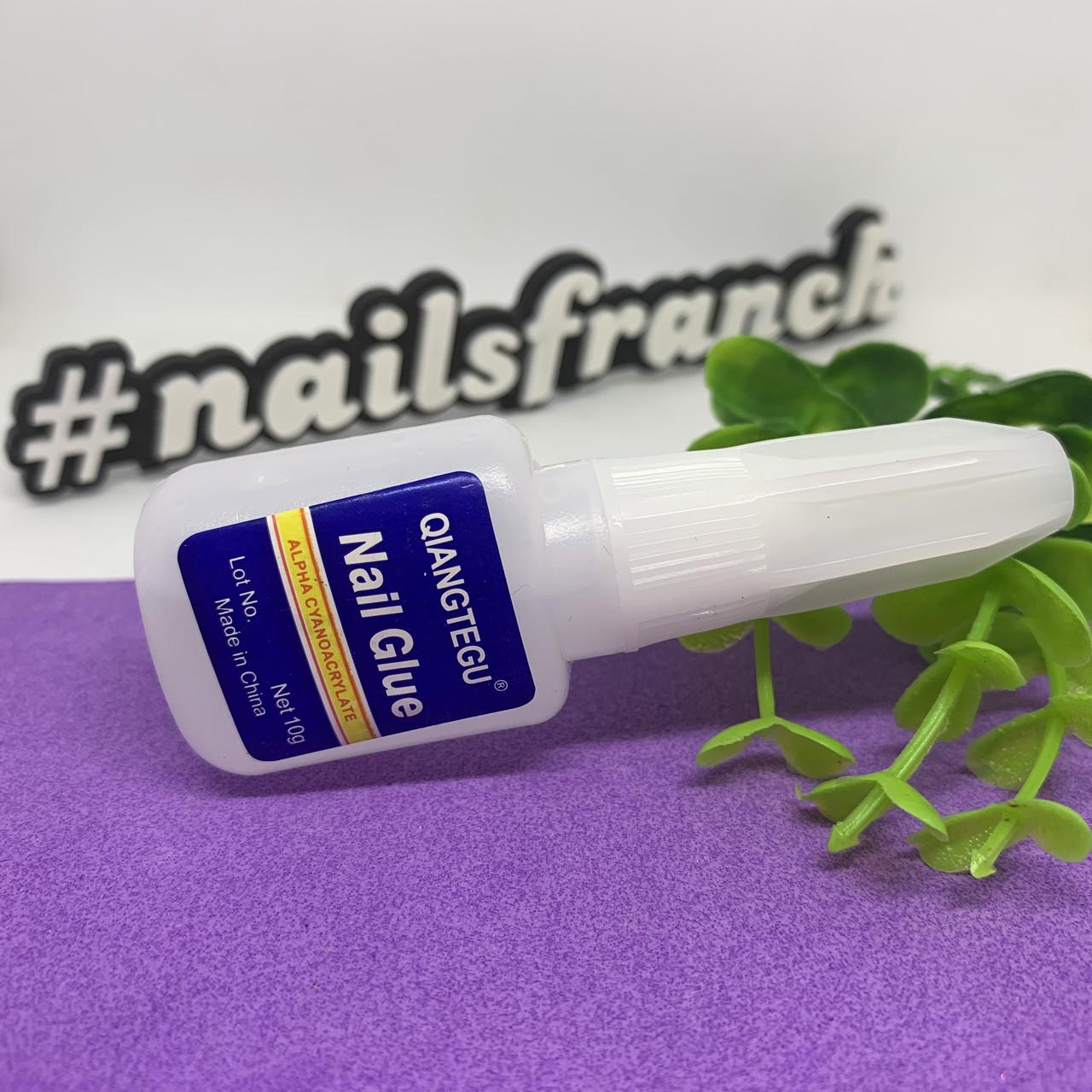 Клей для типс с кисточкой Nail Glue, 10г