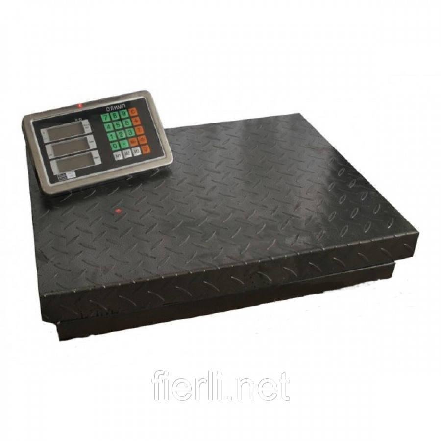 Товарные весы Олимп TCS-102-В12 (300кг). 400х500 мм.