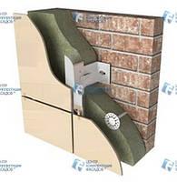 Система крепления навесного вентилируемого фасада «Комрад»