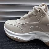 Кросівки жіночі INSHOES беж, фото 3
