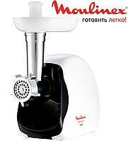 Мясорубка Электрическая Moulinex 1600 W. Электромясорубка с насадками Мулинекс.