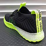 Кросівки унісекс INSHOES чорні, фото 3