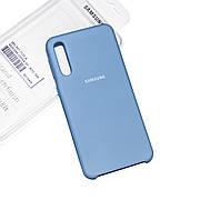 Silicone Case Premium на Samsung A50 / A50s Azure