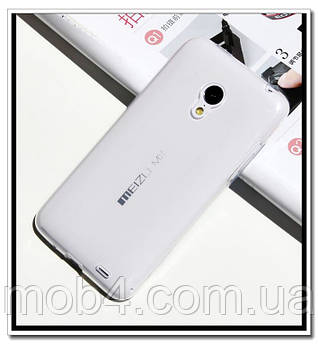 Ультратонкий 0,3 мм чехол для Meizu MX3 (прозрачный)