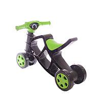 Детский Мотоцикл Беговел Минибайк Четырехколёсный Doloni Toys, Зелёный (0136/01)
