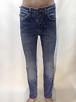 Мужские стильные молодежные джинсы Турция синие, фото 1