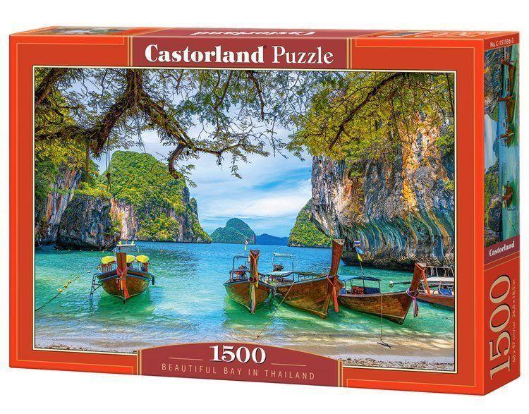 Пазлы Прекрасная бухта в Таиланде, 1500 элементов Castorland