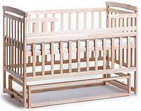 Детская кроватка трансформер Лодочка DeSon(Десон) Натуральный, фото 1