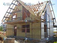 Утепление фасада навесными вентилируемыми фасадами