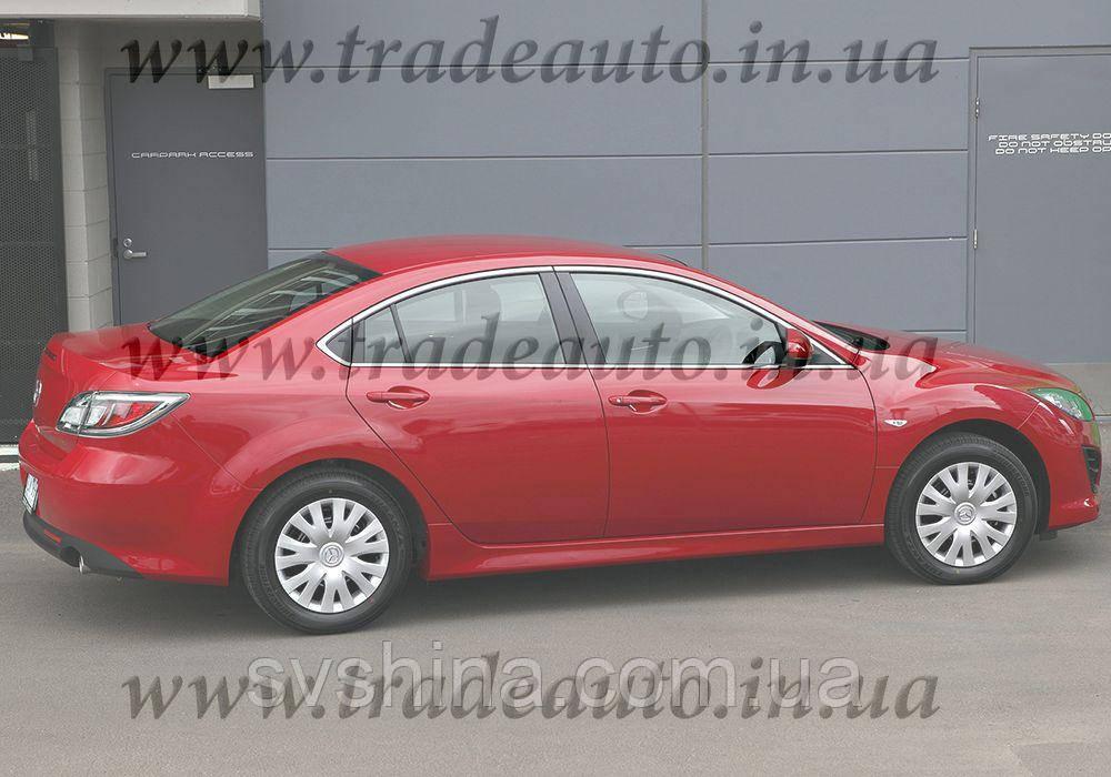 Дефлекторы окон Heko на Mazda  6 2007-2013