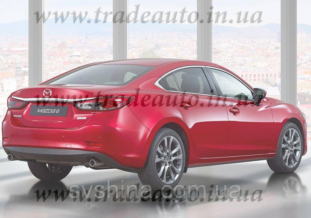 Дефлекторы окон Heko на Mazda  6 2013->