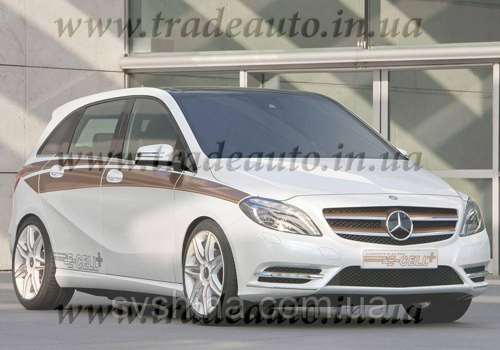 Дефлекторы окон Heko на Mercedes  B-klasse W-246 2011 ->