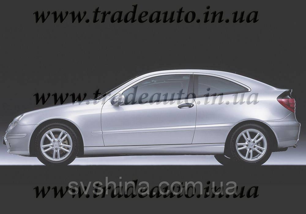 Дефлекторы окон Heko на Mercedes  C-klasse CL203 2000-2006 3D