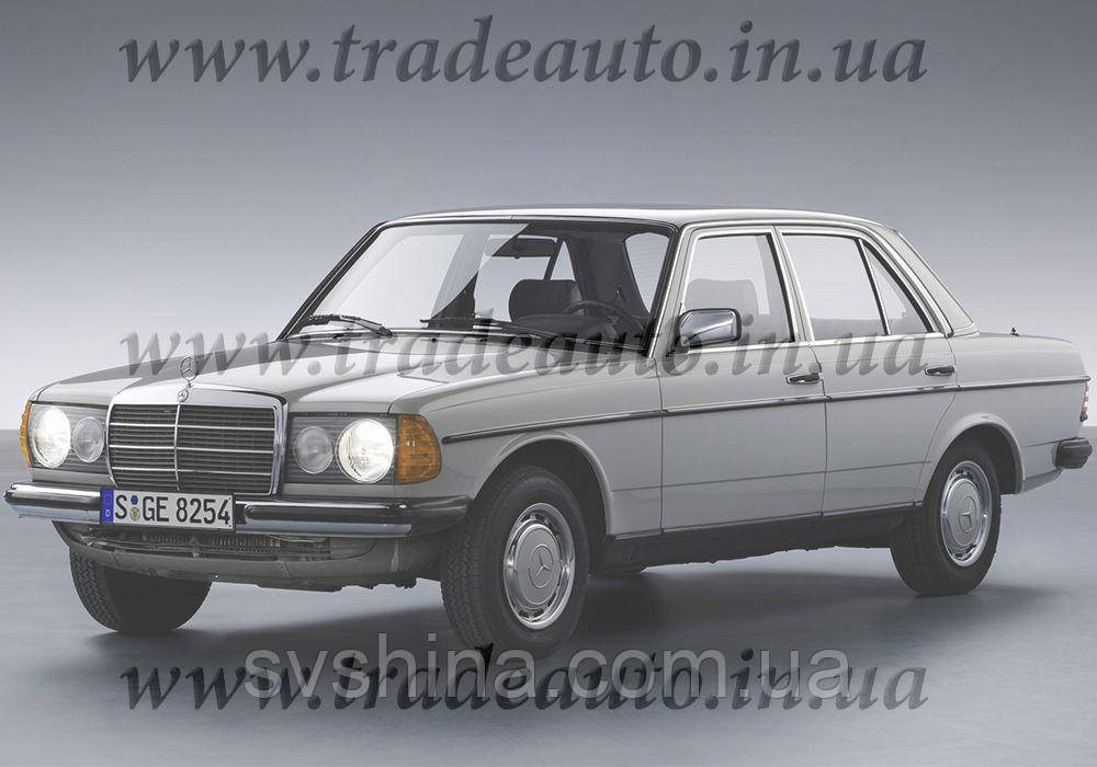 Дефлекторы окон Heko на Mercedes  E-klasse W-123 1976-1985
