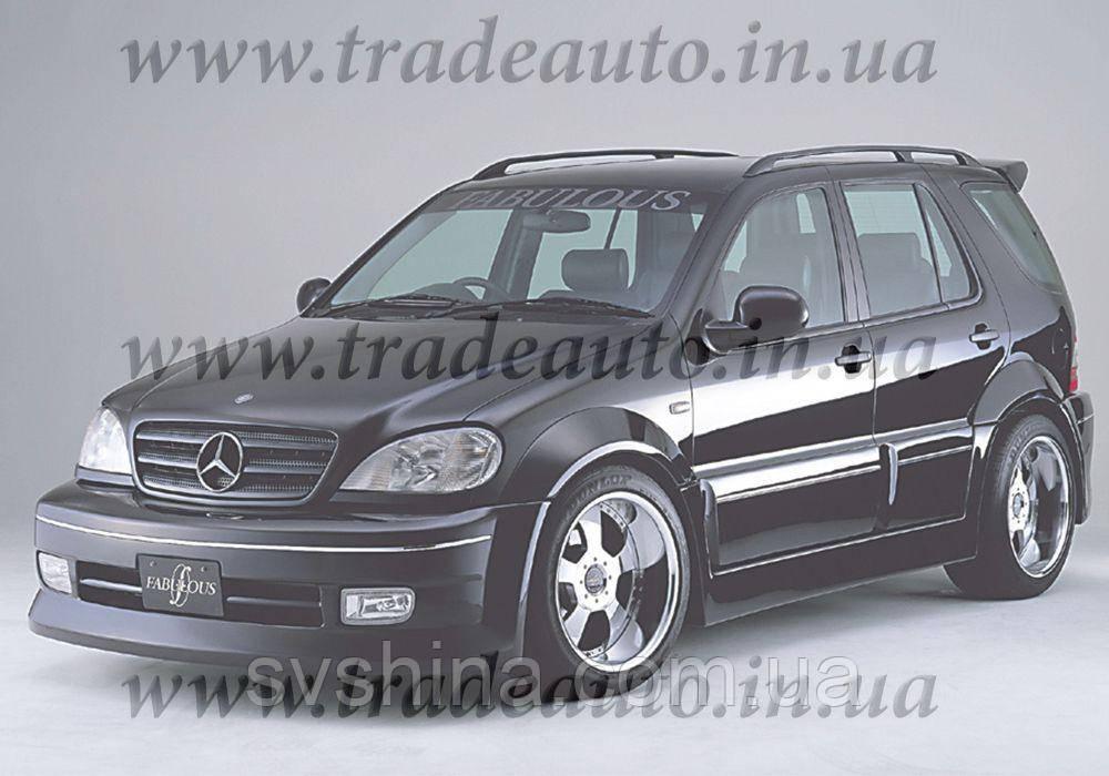Дефлекторы окон Heko на Mercedes  ML-klasse W-163 1997-2005