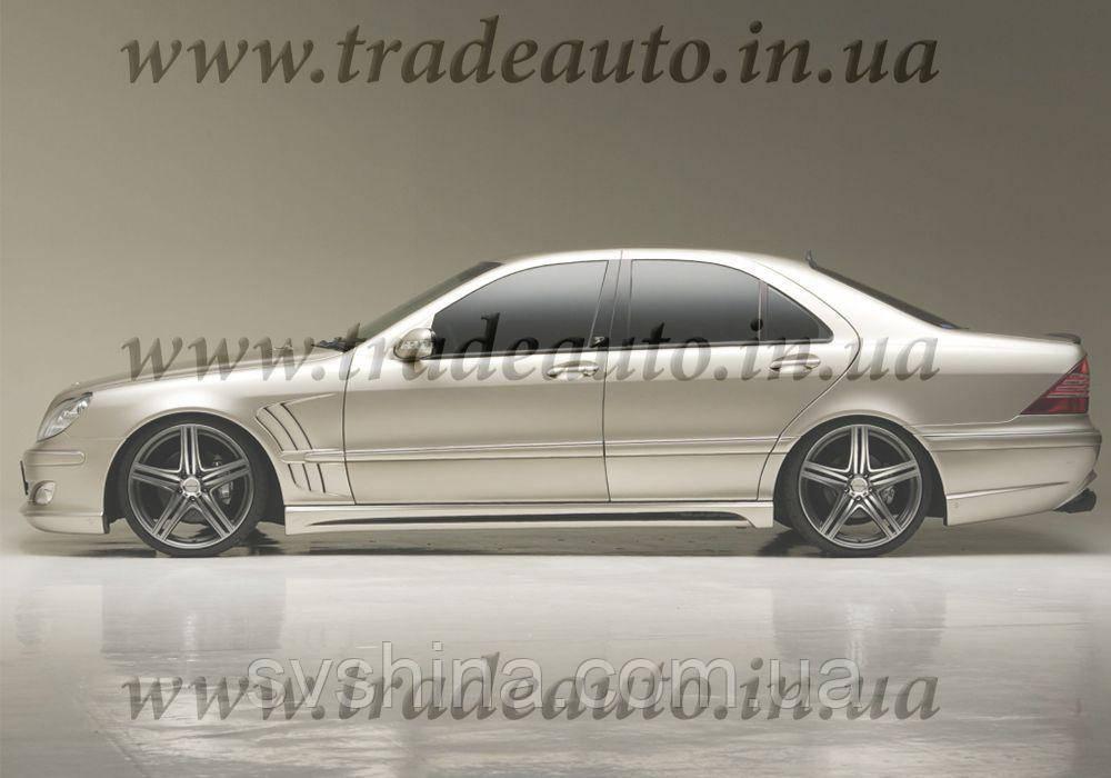 Дефлекторы окон Heko на Mercedes  S-klasse W-220 1999-2005