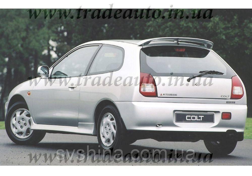 Дефлекторы окон Heko на Mitsubishi  Colt 1996-2003 3D