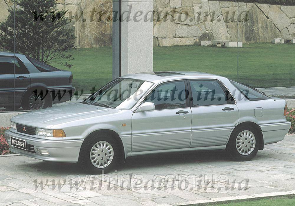 Дефлекторы окон Heko на Mitsubishi  Galant 1987-1993