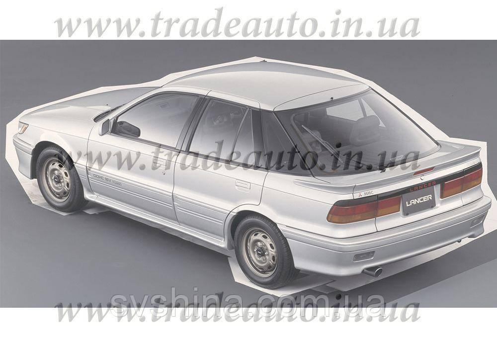 Дефлекторы окон Heko на Mitsubishi  Lancer 1988-1991