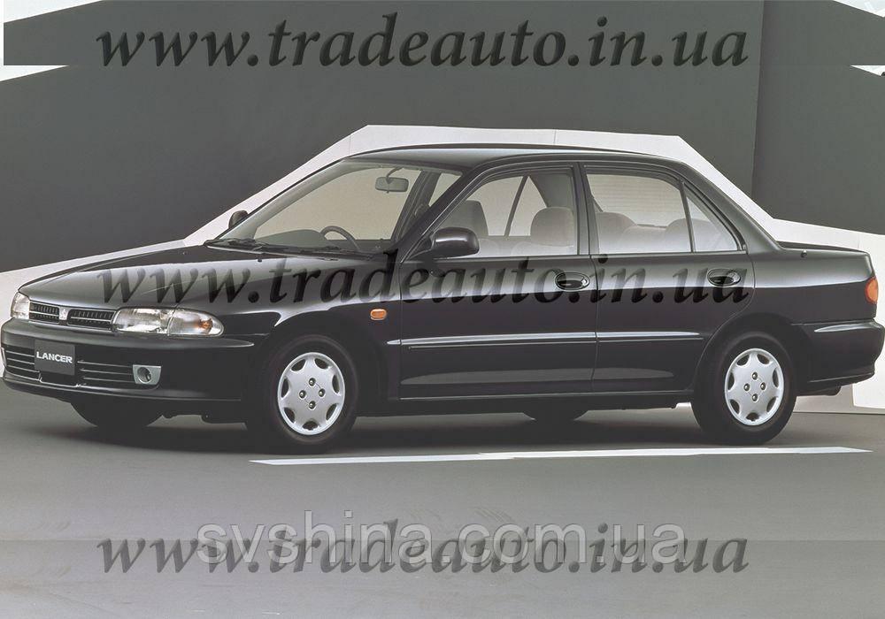 Дефлекторы окон Heko на Mitsubishi  Lancer 1991-1995