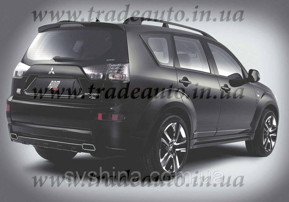 Дефлекторы окон Heko на Mitsubishi  Outlander XL 2007-2012