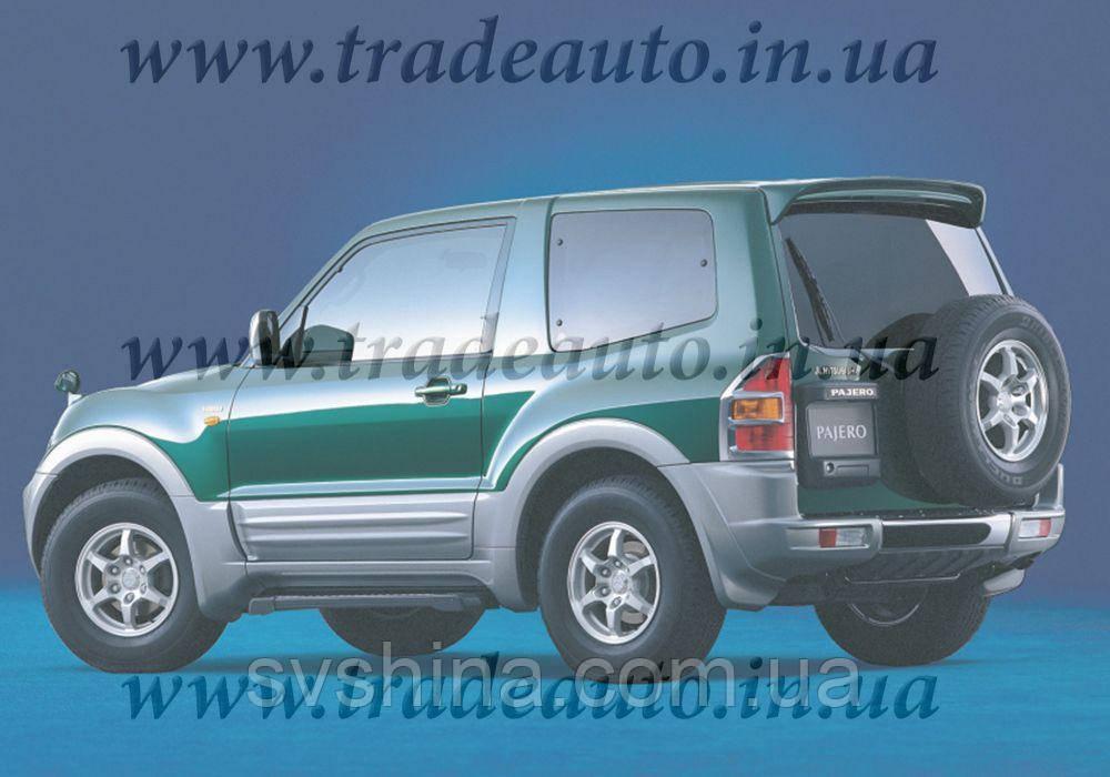Дефлекторы окон Heko на Mitsubishi  Pajero III/IV 2000 -> 3D