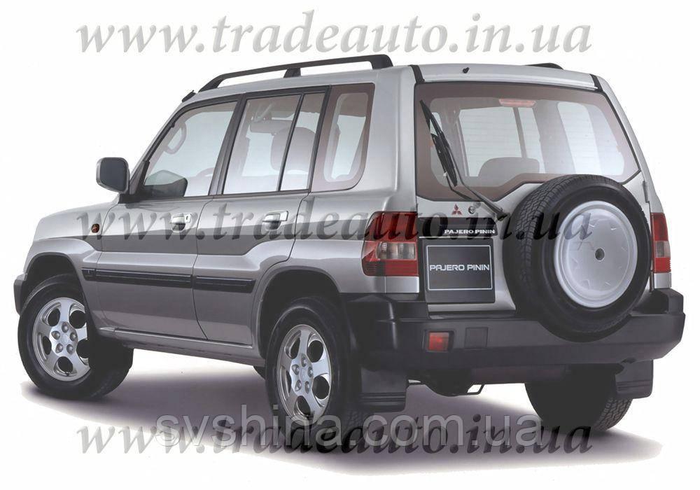 Дефлекторы окон Heko на Mitsubishi  Pajero Pinin 1998-2007