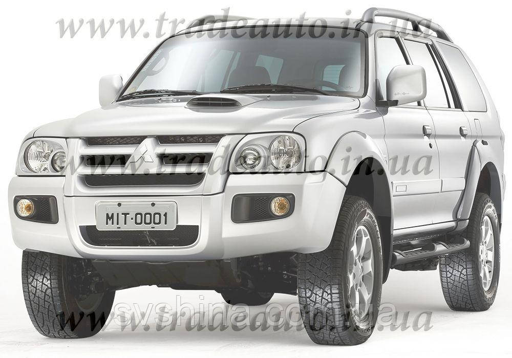 Дефлекторы окон Heko на Mitsubishi  Pajero Sport 1997-2013