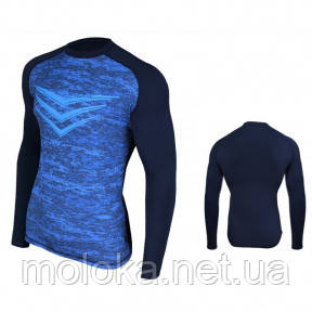 Рашгард (спортивный джемпер, кофта) Rashguard Smite LS, синяя M